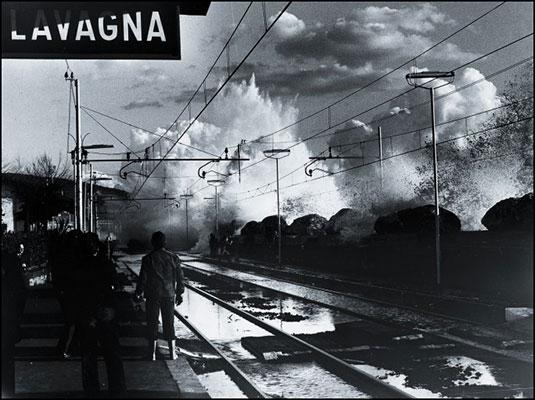 Enrico Raso - Mareggiata - Anni'70